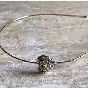 Accessories - Headband hair gold made with Swarovski elements